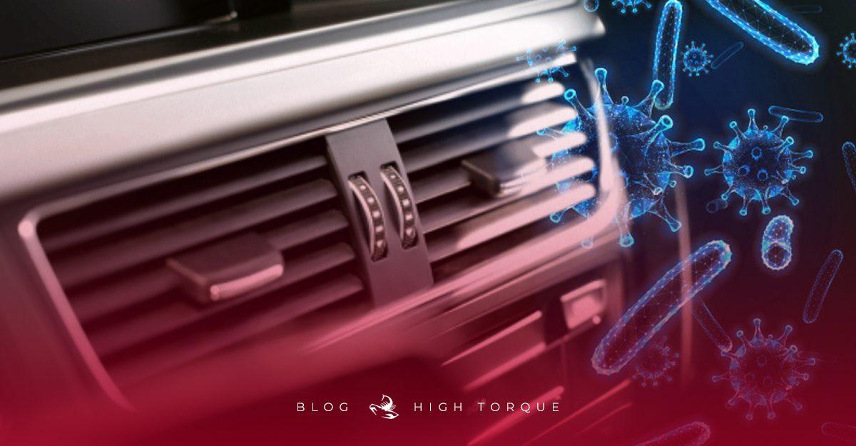 Higienização de carros para conter vírus